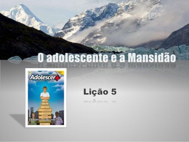 Lição 5