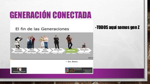 GENERACIÓN CONECTADA -TODOS aquí somos gen Z