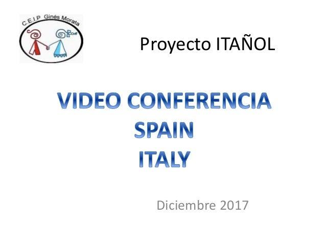 Proyecto ITA�OL Diciembre 2017