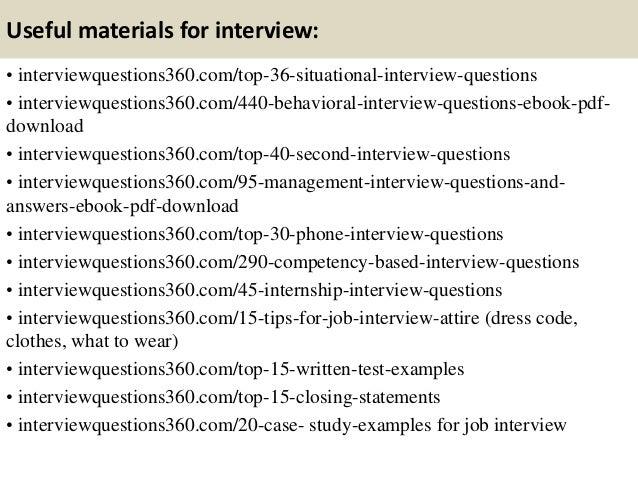 SlideShare  Interview Tips