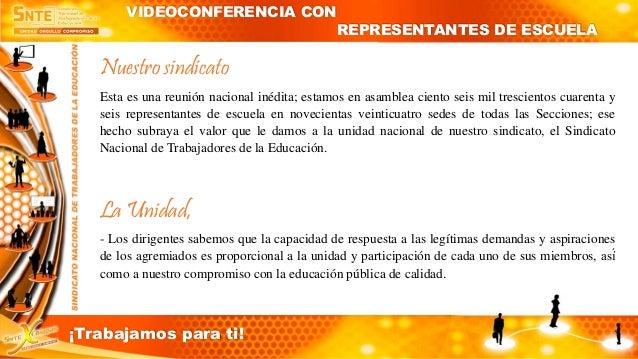 Videoconferencia Slide 3