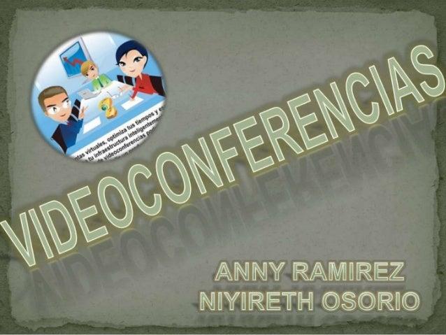 Videoconferencias niyi y anny