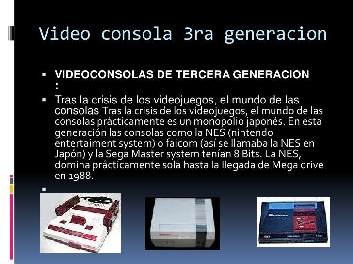 VIDEOCONSOLAS DE CUARTEGENERACION   :    En 1987 NEC y Hudson, sacan la consola PC engine en Japón o    Turbograft en el ...
