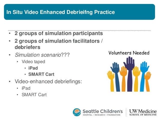 The Simulation Scenario – LEGO Challenge! • Identification • Rehearsal • Training