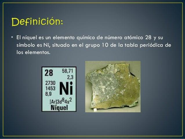 Video de niquel 2 el nquel es un elemento qumico urtaz Choice Image