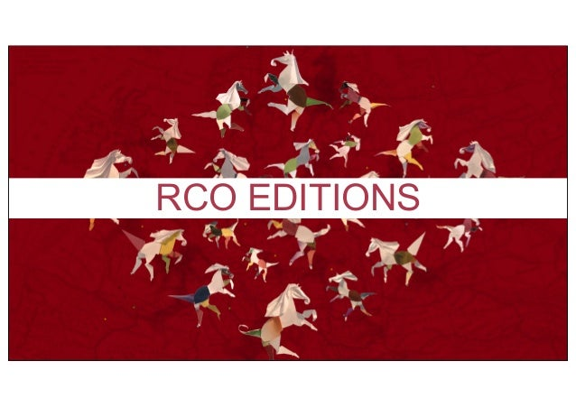 RCO EDITIONS