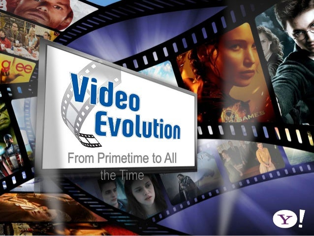  A brief history of video       100                   10 years     years ago                 ago                 50 years...
