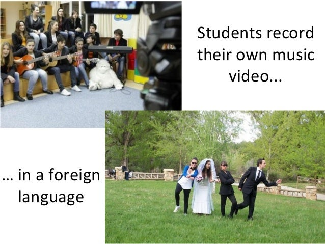 Share your ideas  of how you are  using video in  language  teaching  Give feedback  Pilot the  practises in your  classro...