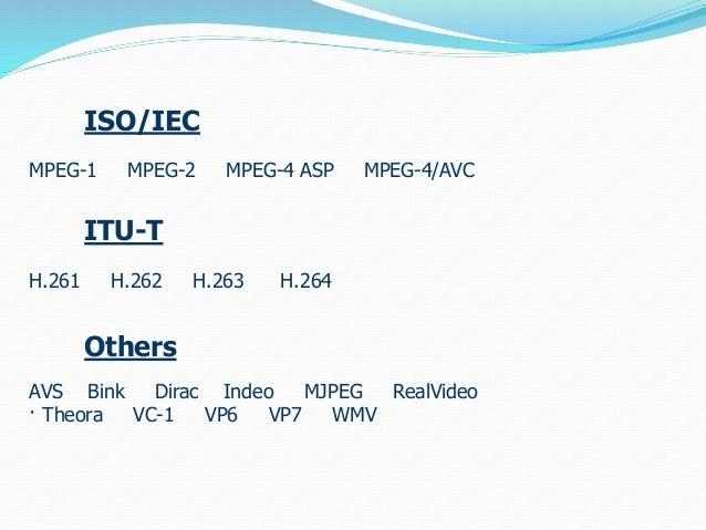 Video formats Slide 2