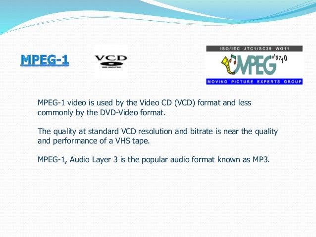 Video formats Slide 3