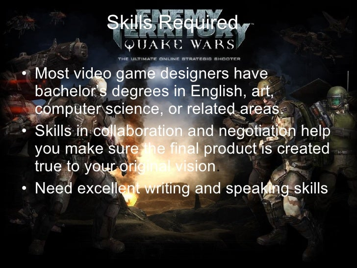Image Result For Courses Needed For Game Design