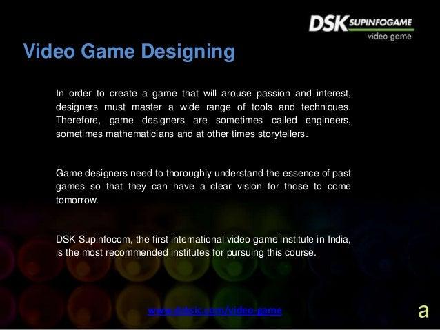 Challenging Career Opportunities in Video game Design   Game Art Desi…