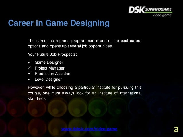 Challenging Career Opportunities In Video Game Design  Game Art Desi