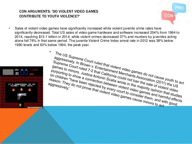 Do video games make people violent?