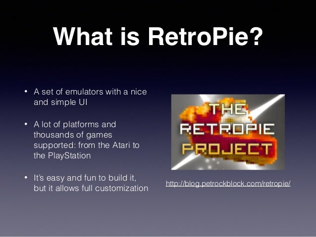 Play your old games with RetroPie
