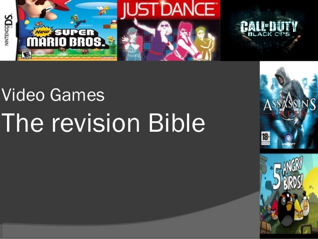 Video Games  The revision Bible