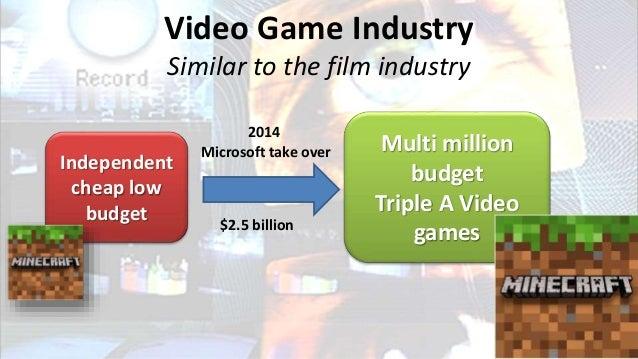 Independent cheap low budget •2011 beta version > 1 million purchases in 1 month. •April 2011 est. US $33 million revenue ...