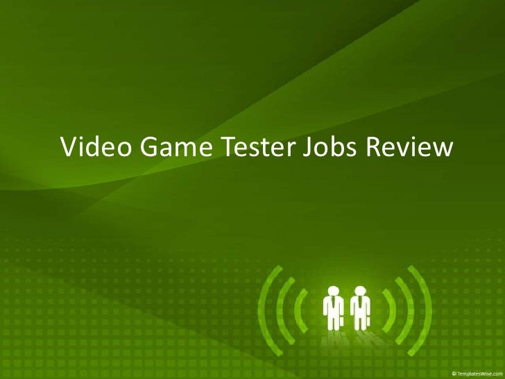 Video Game Tester Jobs Review<br />