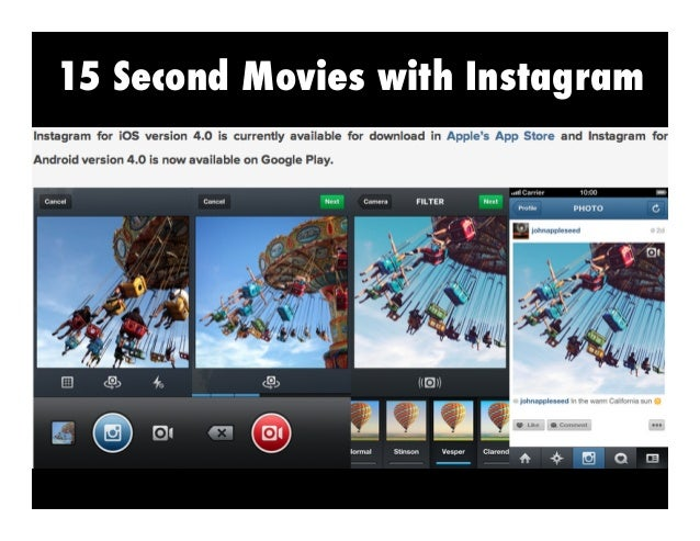 Use VidEditor Free App to Piece Together  https://itunes.apple.com/us/app/video-editor-free/id450722848?mt=8