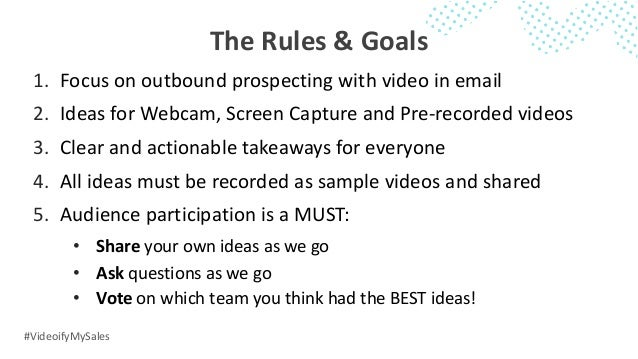 """Videoify"""" My Sales Pitch: 1-to-1 Video Prospecting Ideas"""