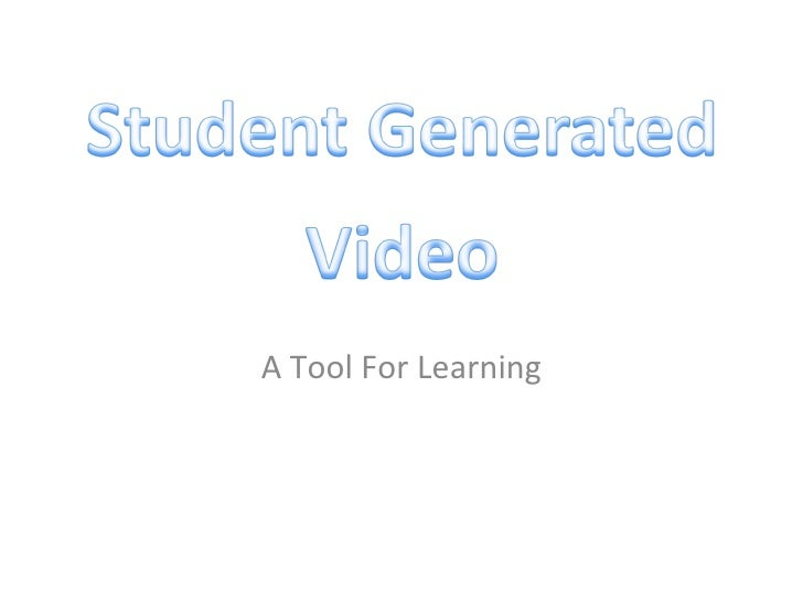 A Tool For Learning