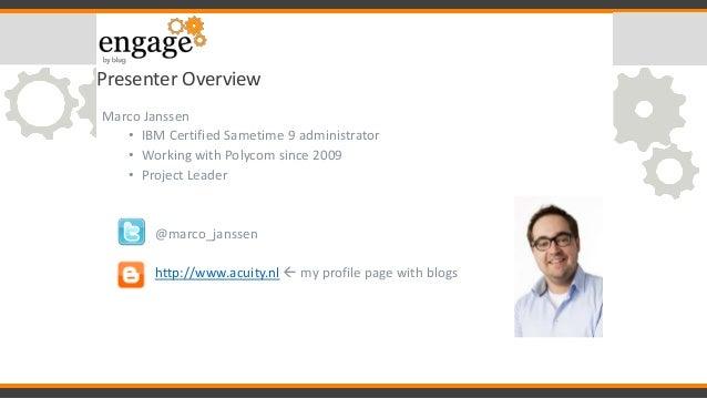 Social Communications & IBM Sametime 9 Slide 3