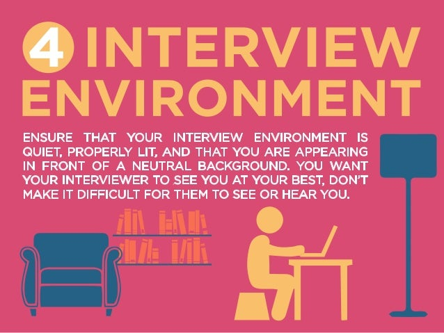 5 Top Tips for a Video Interview