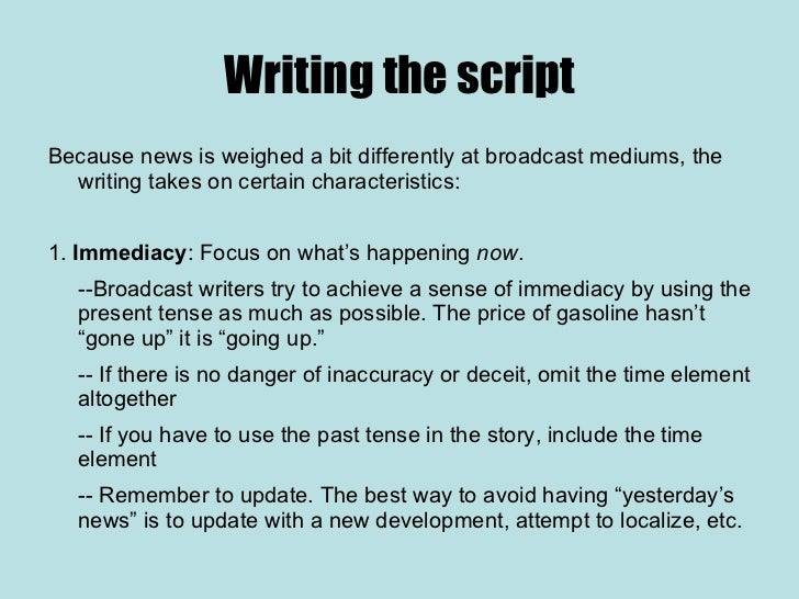 how to write a news report for kids Writing and reporting / collaborative research with the evolution of citizen journalism, the barrier between news broadcaster and news consumer is blurred.