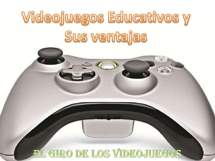 Videojuegos educativos, y sus ventajas