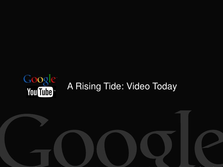 A Rising Tide: Video Today