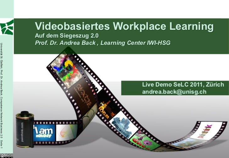 Videobasiertes Workplace Learning                                                                                         ...