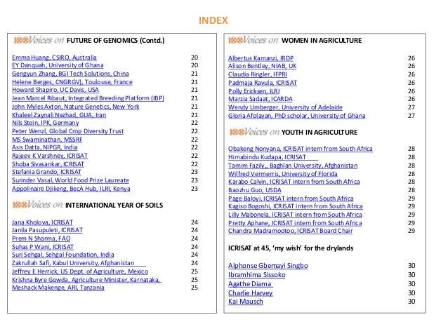 ICRISAT Communication Resources Catalogue- September 2018
