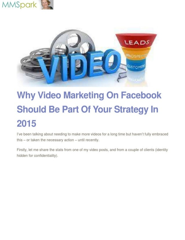 lvllvlspork -     Why Video Marketing On Facebook Should Be Part Of Your Strategy In 2015  I've been talking about needing...