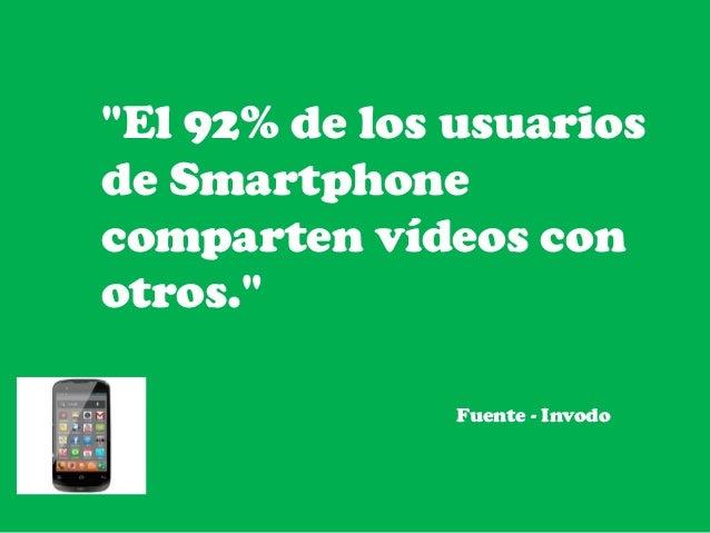 datos sorprendentes de  video marketing  2015  Slide 3