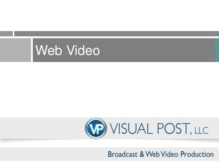 Web Video <br />