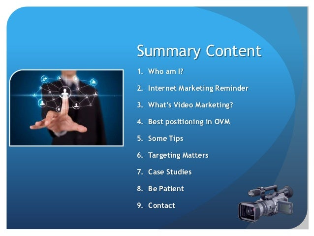 Video Marketing Presentation