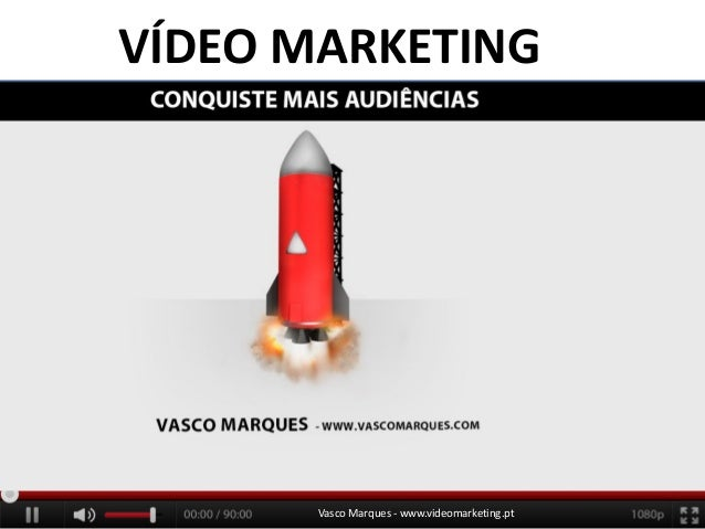 Vasco Marques - www.videomarketing.pt VÍDEO MARKETING