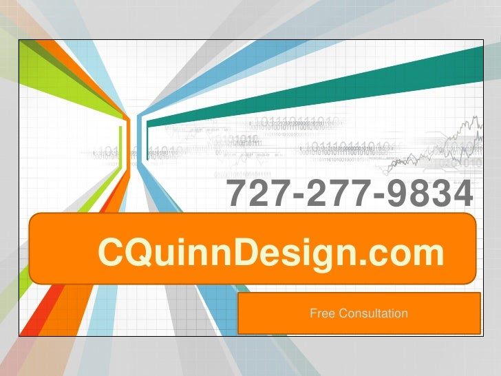 727-277-9834<br />CQuinnDesign.com<br />Free Consultation<br />