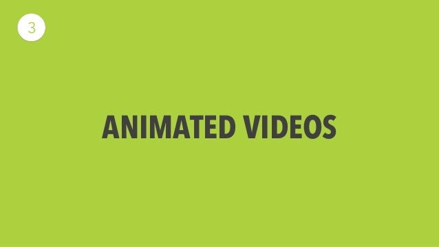 Animated Videos  When creating video for a piece of software we create  animated videos from Powtoons. These videos are ea...