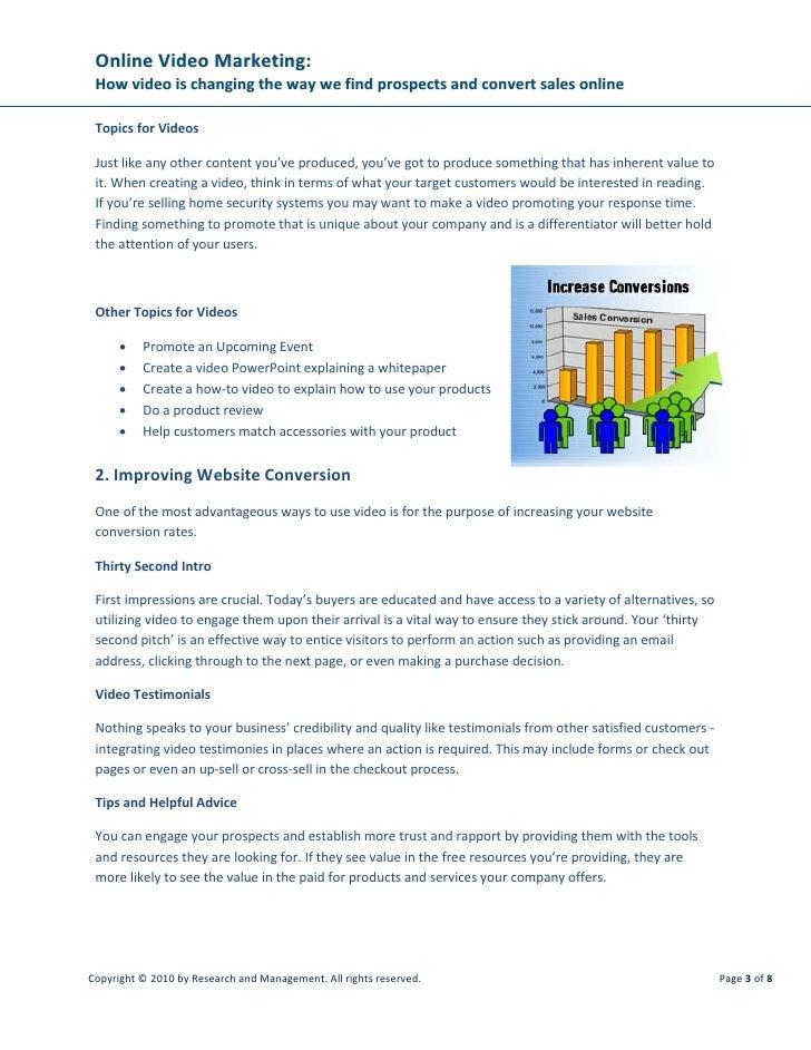 WSI | How to Market Video Online 101