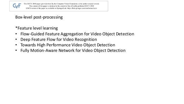 Video object detection Slide 3