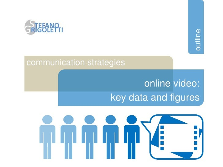 outlinecommunication strategies                           online video:                    key data and figures