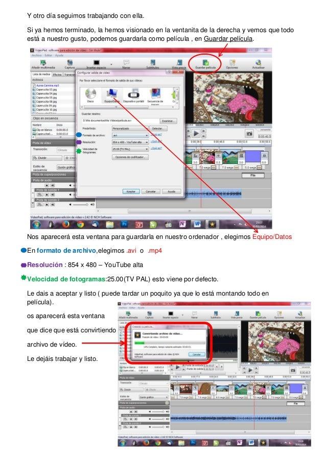 VideoPad tutorial