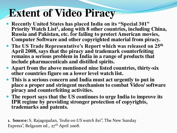 film piracy and its effects in How piracy is changing the music industry landscape september  it is hard to ignore that ticket  asserting a direct link between the effects of.