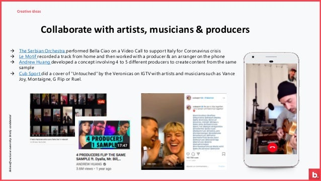Believe@exclusiveownership.Strictlycondidential Creative ideas Collaborate with artists, musicians & producers → The Serbi...