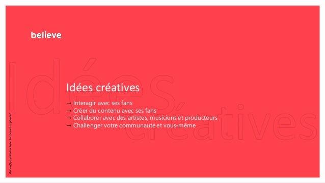 Idées créatives → Interagir avec ses fans → Créer du contenu avec ses fans → Collaborer avec des artistes, musiciens et pr...