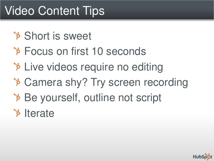 Video and Video Podcasting for B2B Marketing - #PCB4 Slide 3