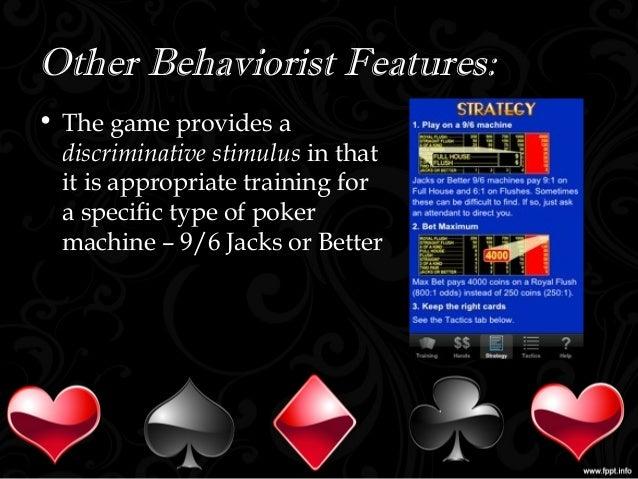 Video Poker Training