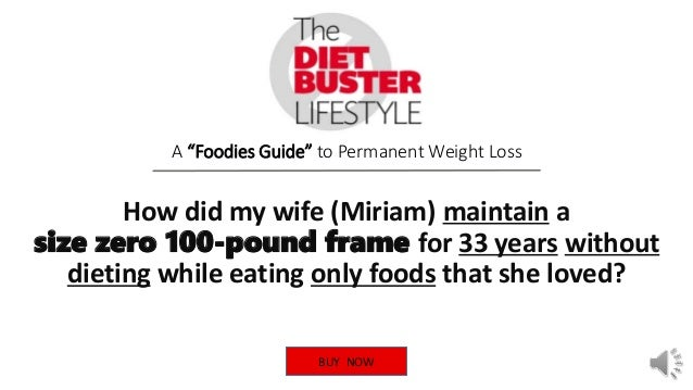The Diet Buster Lifestyle V1