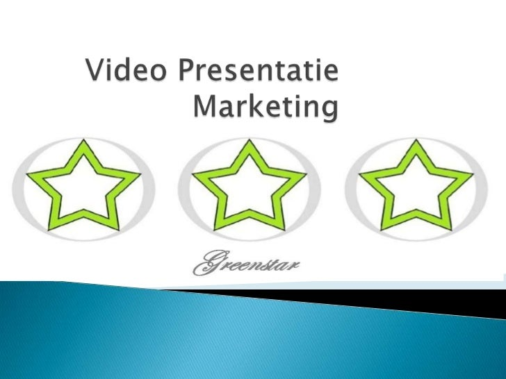 Video Presentatie Marketing<br />